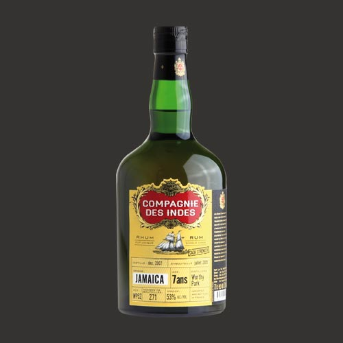 JAMAICA 7 YEARS CASK STRENGTH – SINGLE CASK