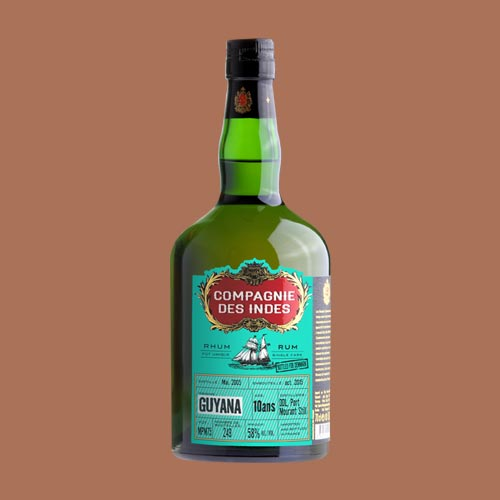 GUYANA 10 YEARS CASK STRENGTH – SINGLE CASK