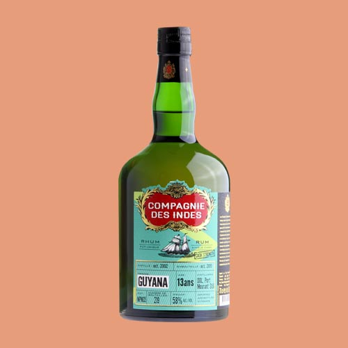 GUYANA 13 YEARS CASK STRENGTH – SINGLE CASK
