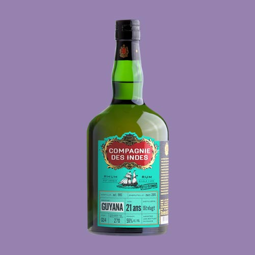GUYANA 21 YEARS CASK STRENGTH – SINGLE CASK