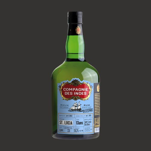 ST. LUCIA 13 YEARS CASK STRENGTH – SINGLE CASK