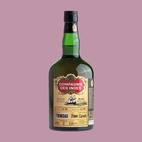 TRINIDAD 21 ANS CASK STRENGTH – SINGLE CASK
