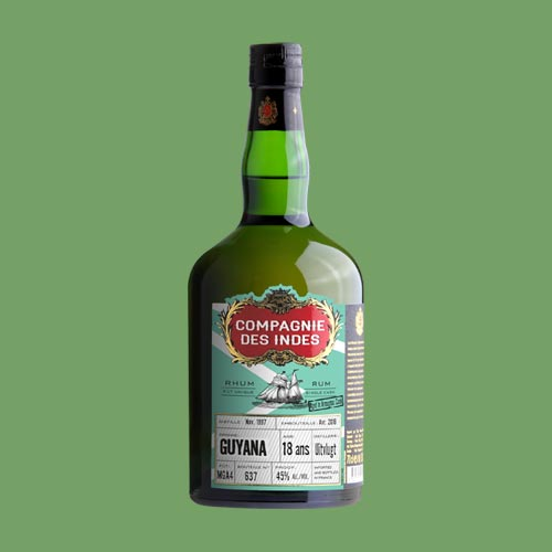 GUYANA 18 ANS – SINGLE CASK