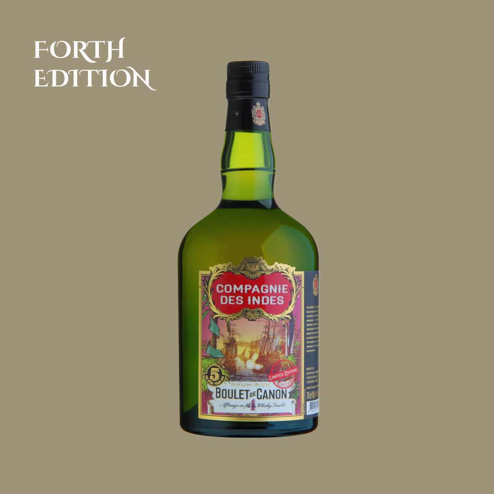 BOULET DE CANON IV FINISH IN PEATED WHISKY – BLEND