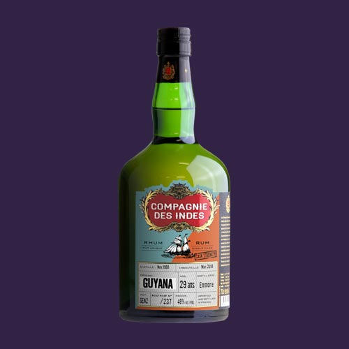 GUYANA 29 ANS CASK STRENGTH – SINGLE CASK