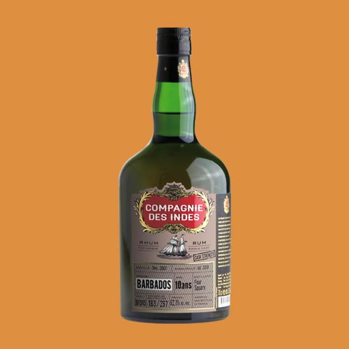 BARBADOS 10 YEARS CASK STRENGTH – SINGLE CASK
