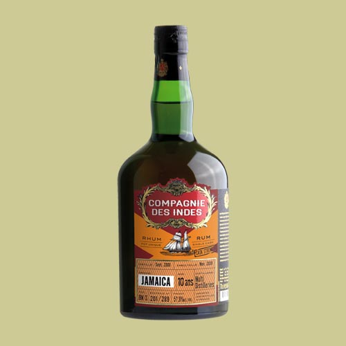 JAMAICA 10 YEARS CASK STRENGTH – SINGLE CASK