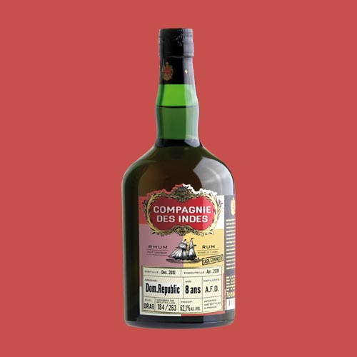 DOMINICAN REPUBLIC 8 YEARS CASK STRENGTH – SINGLE CASK