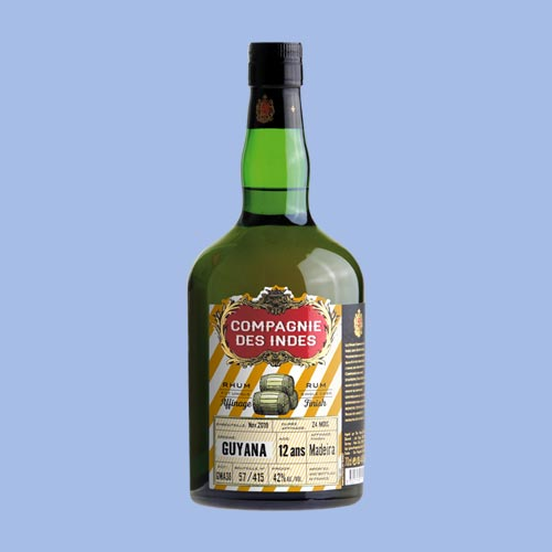 GUYANA 12 ANS – SINGLE CASK – MADEIRA FINISH