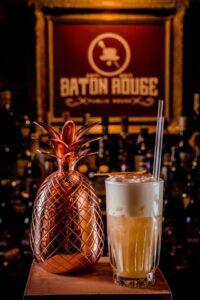 Photo of a cocktail from Louisiana themed bar Baton Rouge, Calle de la Victoria, 8
