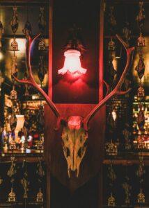Photo of interior design of bar Salmon Guru, El Barrio de las Letras